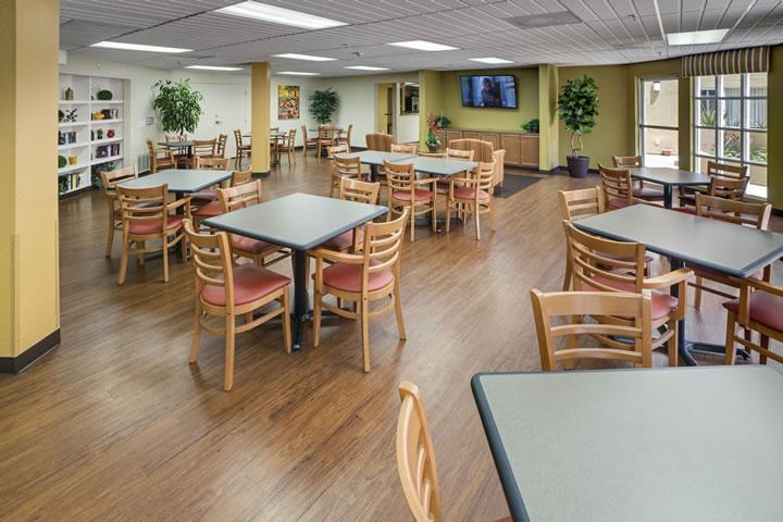 Huntington Plaza Senior Living Interior Design