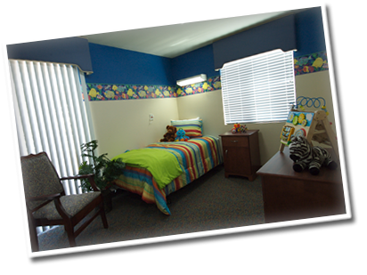 St. Patricks Childrens Center Bedroom