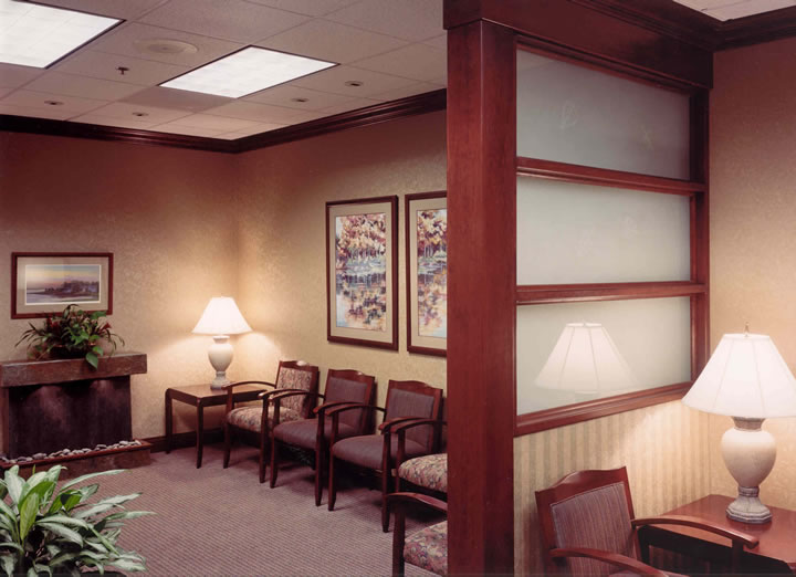 Custom Interior Design Model plastic surgery center. : healthcare interior design project